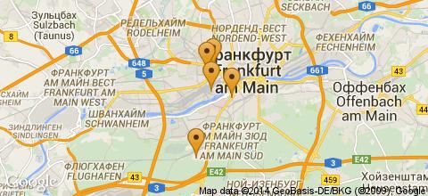 Отели Франкфурта-на-Майне